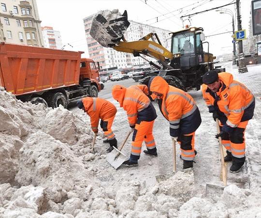Уборка снега в Челябинске и Челябинской области