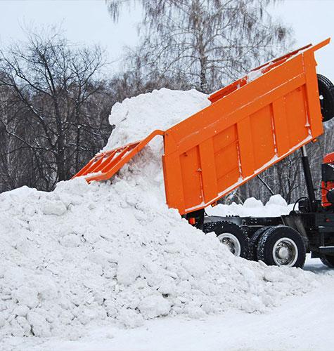 Услуга по уборке снега в Челябинске