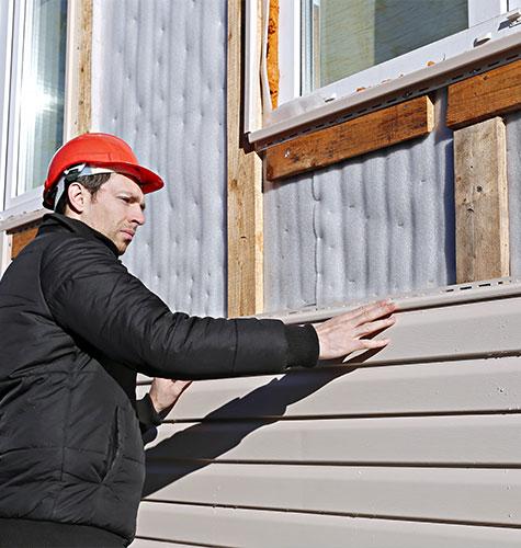 Отделка и ремонт фасада в Челябинске