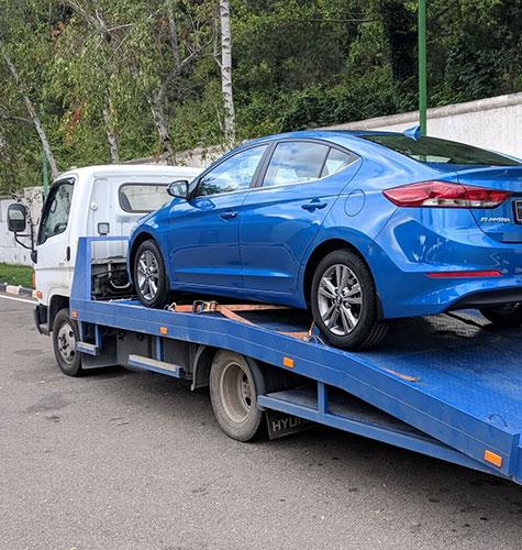 Транспортировка легковых авто в Челябинске
