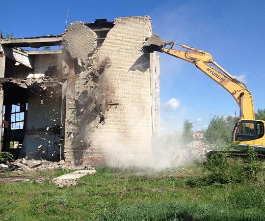 Демонтаж зданий в Челябинске и Челябинской области